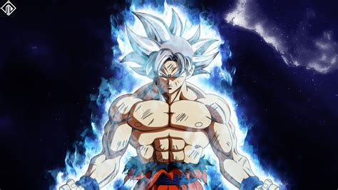 mastered perfect ultra instinct goku dragon ball super