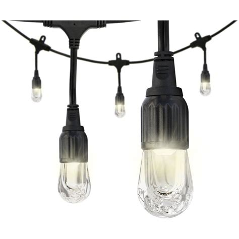 enbrighten 24 ft 8 light led outdoor decorative string