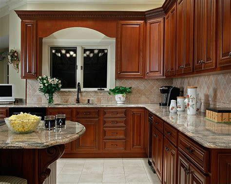 1000+ Ideas About Cherry Cabinets On Pinterest