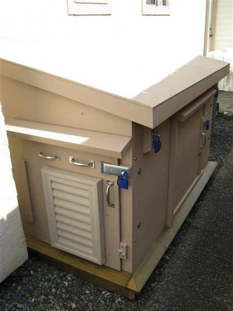 outdoor insulated generator box  mayflowerdescendant