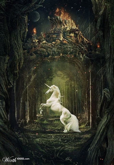 unicorns and pegasi 7 worth1000 contests magical mythical licorne monde fantastique