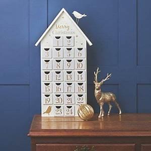 Calendrier De L Avent Maison En Bois : calendrier de l 39 avent en forme de maison en bois avec toit en m tal 60 cm inspiracje ~ Melissatoandfro.com Idées de Décoration