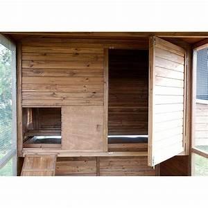 Plan Poulailler 5 Poules : poulailler large square 8 12 poules plantes et jardins ~ Premium-room.com Idées de Décoration