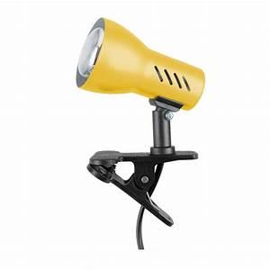 Lampe Zum Klemmen : spot light lampe zum klemmen klemmleuchte clampspot klemmlampe gelb e27 60w ebay ~ Orissabook.com Haus und Dekorationen