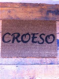 Croeso Doormat by The World S Catalog Of Ideas