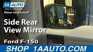 How To Replace Side Rear View Mirror 04