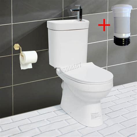 westwood  combi toilet  sink basin tap cloakroom bathroom suite wc unit ebay