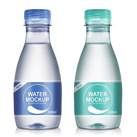 2020 popular 1 trends in beauty & health, home & garden with e liquid bottle clear cap and 1. Packreate » 330ml Mineral Water Bottle PSD Mockup