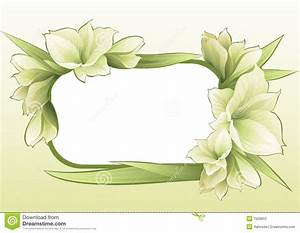 Green Floral Frame Stock Photography - Image: 7500652