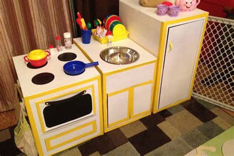 Cardboard Kitchen  Crafts For Kids  Pbs Parents