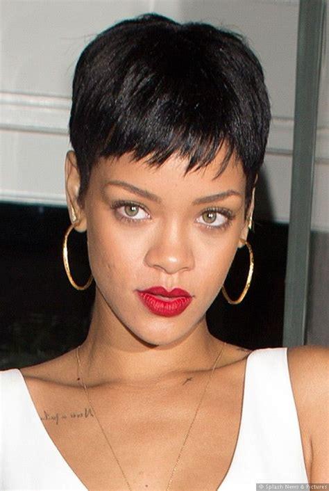Rihanna Pixie Cut Hairstyles by Rihanna Hair Cut Hair Styles For Ethnic