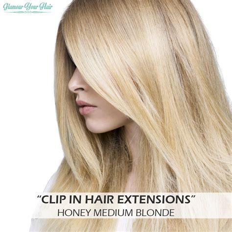 honey blonde clip  hairextensions voor mooi vol haar