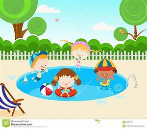 Children Swimming Pool Clipart (73+)