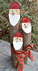Bastelideen Holz Weihnachten : weihnachtsm nner aus baum sten bauen garten dekoration zu weihnachten kindergarten ~ Orissabook.com Haus und Dekorationen