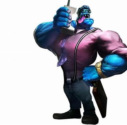 League Legends Mundo Grim Reaper Purepng Splashart