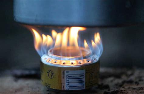 cuisiner une canette réchaud avec une canette la fabrique diy