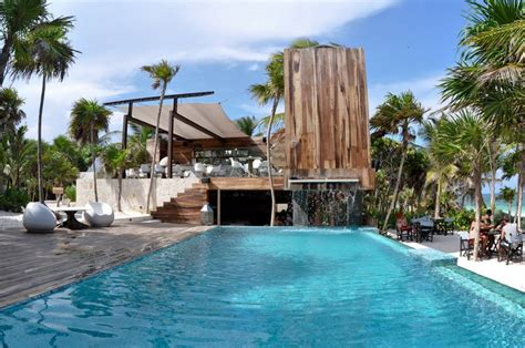 luxury house plans with pools be tulum resort in mexico 4