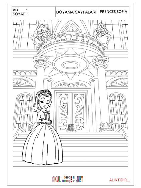 Prenses Sofia Boyama Resimlere Göre Ara Red