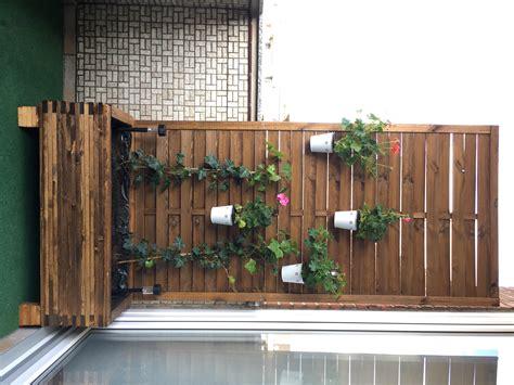 Sichtschutz Balkon Selber Machen by Pflanzen Holz Und Alu Sichtschutz Balkon Selber Machen Big
