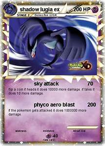 Pokémon shadow lugia ex 49 49 - sky attack - My Pokemon Card
