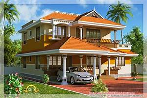 Spectacular Traditional Kerala Style House Elevation Designs