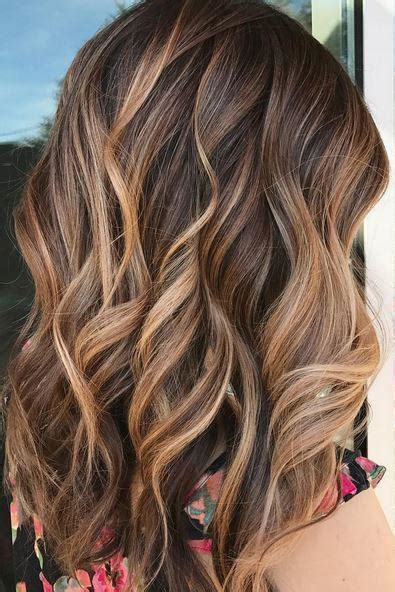 brown hair  blonde highlights   ideas