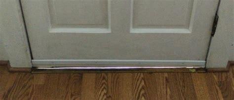 How To Fix Gap Under Front Door? Threshold? Doityourself