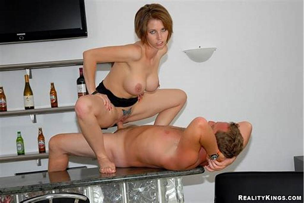 #Super #Hot #Short #Haired #Milf #Destiny #Rides #A #Long #Cock #In