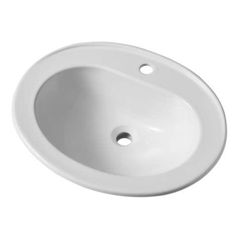 vasque encastrable salle de bain pas cher ovale