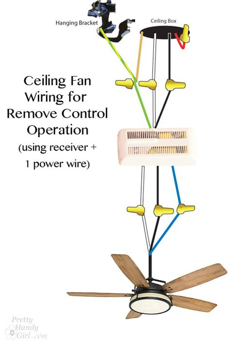 how to fix a ceiling fan light how to install a ceiling fan pretty handy