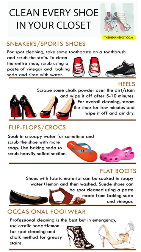 clever hacks to clean every type of shoe in your closet