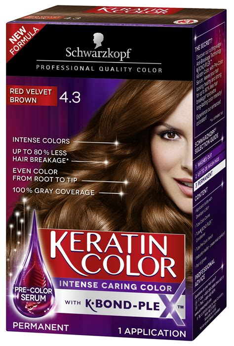 Amazon.com: Schwarzkopf Keratin Color Permanent Hair Color