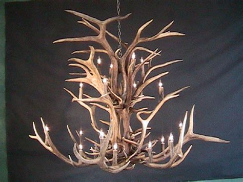 ceiling faux antler chandelier cheap elk looking