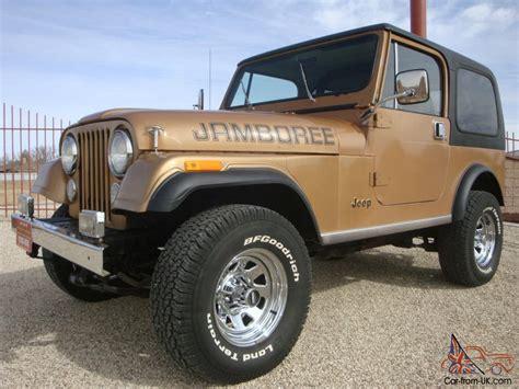 jeep hardtop interior 1982 jeep cj7 jamboree edition 30th anniversary cj 7 w ac
