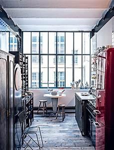 Objet Deco Industrielle : un appartement de style industriel avec des objets chin s marie claire ~ Teatrodelosmanantiales.com Idées de Décoration