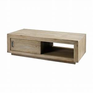 table basse en teck table basse en teck recycl 2 niveaux With exceptional meuble d angle maison du monde 6 table de chevet scandinave