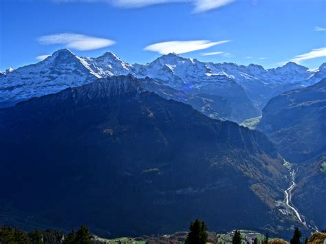 eiger mönch jungfrau bernese alps switzerland 5184