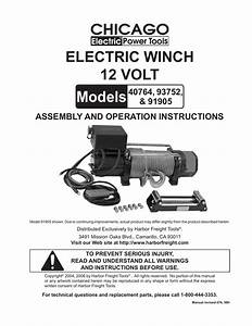 Wiring Diagram For Electric Hoist