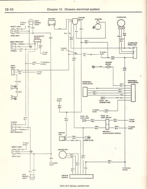 1978 Ford Bronco Turn Signal Wiring Diagram by Best Wiring Diagram For 1977 Ford Truck Enthusiasts Forums