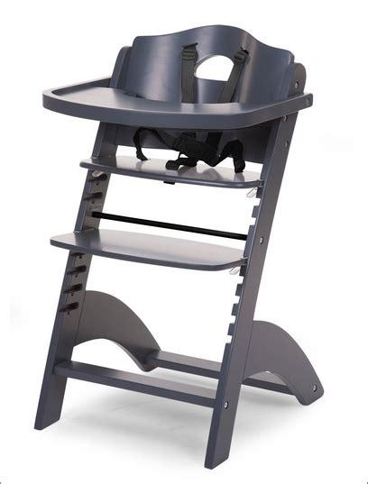 chaise haute hello chaise haute evolutive pour bebe coloris anthracite
