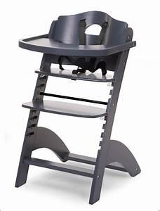 Chaise Haute Pour Bébé : chaise haute evolutive pour bebe coloris anthracite ~ Dode.kayakingforconservation.com Idées de Décoration