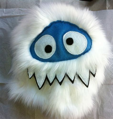 17 best images about abominable snowman on pinterest felt ornaments cake cookies and yeti hat