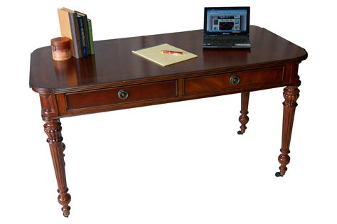 table bureau mahogany bureau plat writing table desk