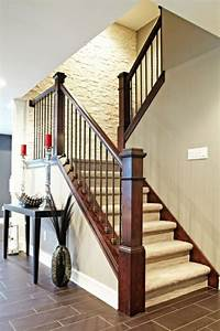 Escalier Interieur Bois : 25 best ideas about rampe escalier int rieur on pinterest ~ Premium-room.com Idées de Décoration