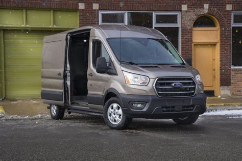 ford transit arrives packing  ranger raptor diesel