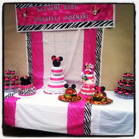 minnie mouse baby shower decorations ideas 28 best minnie mouse baby shower images on