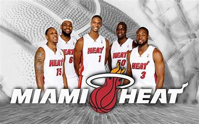 Heat Miami Nba Lineup Wallpapers Starting Background