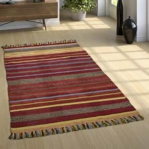Teppich Bunt Gestreift : bunt teppich g nstig sicher kaufen bei yatego ~ Frokenaadalensverden.com Haus und Dekorationen