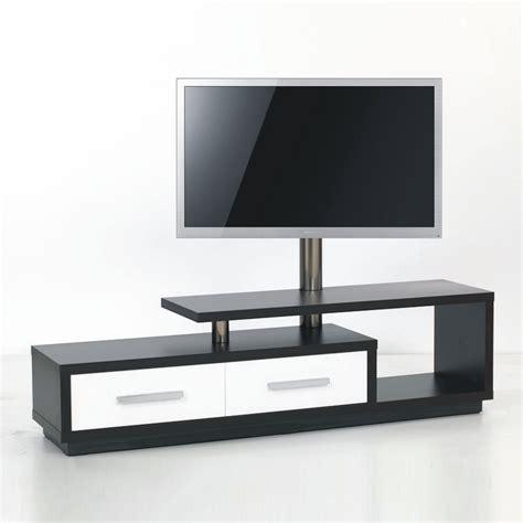 createur de meuble design meuble tv design 170cm noir blanc natura 170h ibw premium mobuler