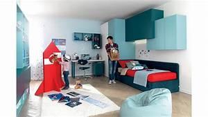 Lit Ado Ikea : chambre d ado avec lit canape modulable moretti compact so nuit ~ Teatrodelosmanantiales.com Idées de Décoration